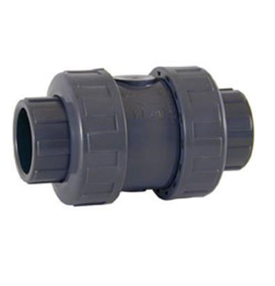 Обратный клапан ПВХ пружинный с муфтовыми окончаниями CEPEX