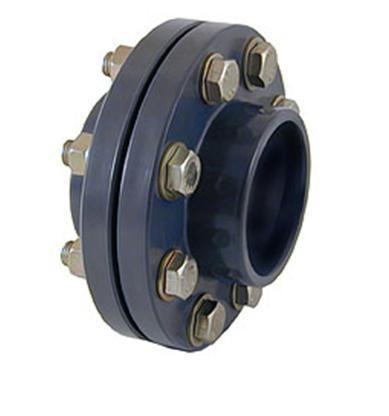 Фланцевый комплект ПВХ свободный для дисковых затворов «баттерфляй» CEPEX
