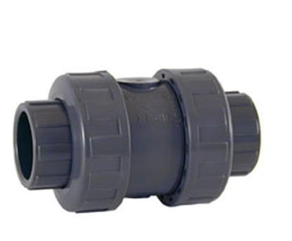 Шаровой обратный клапан ПВХ с муфтовыми окончаниями CEPEX