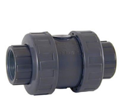 Шаровой обратный клапан ПВХ с резьбовыми окончаниями CEPEX
