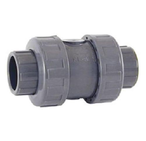 Обратный клапан пружинный с муфтовыми окончаниями под клеевое соединение ХПВХ Corzan®