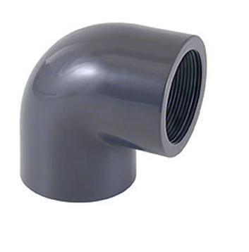 Отвод переходной ПВХ 90° клеевое соединение / внутренняя резьба CEPEX