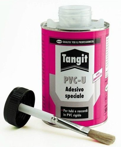 Клей для ПВХ Tangit PVC-U 500 мл (с кисточкой)