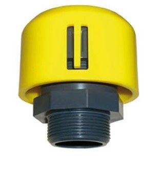 Воздухоотводный клапан ПВХ с резьбовым окончанием уплотнения EPDM CEPEX