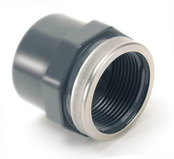 Муфта ПВХ с металлическим кольцом ПВХ Comer, Италия